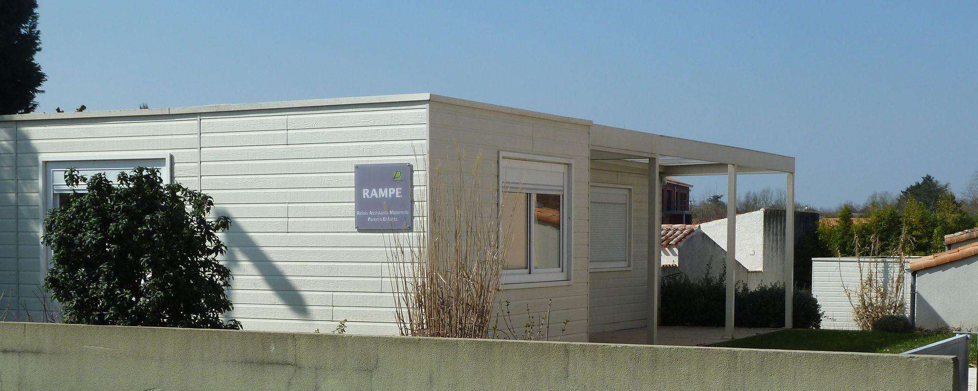 Bâtiment du RAMPE à Dompierre sur Mer