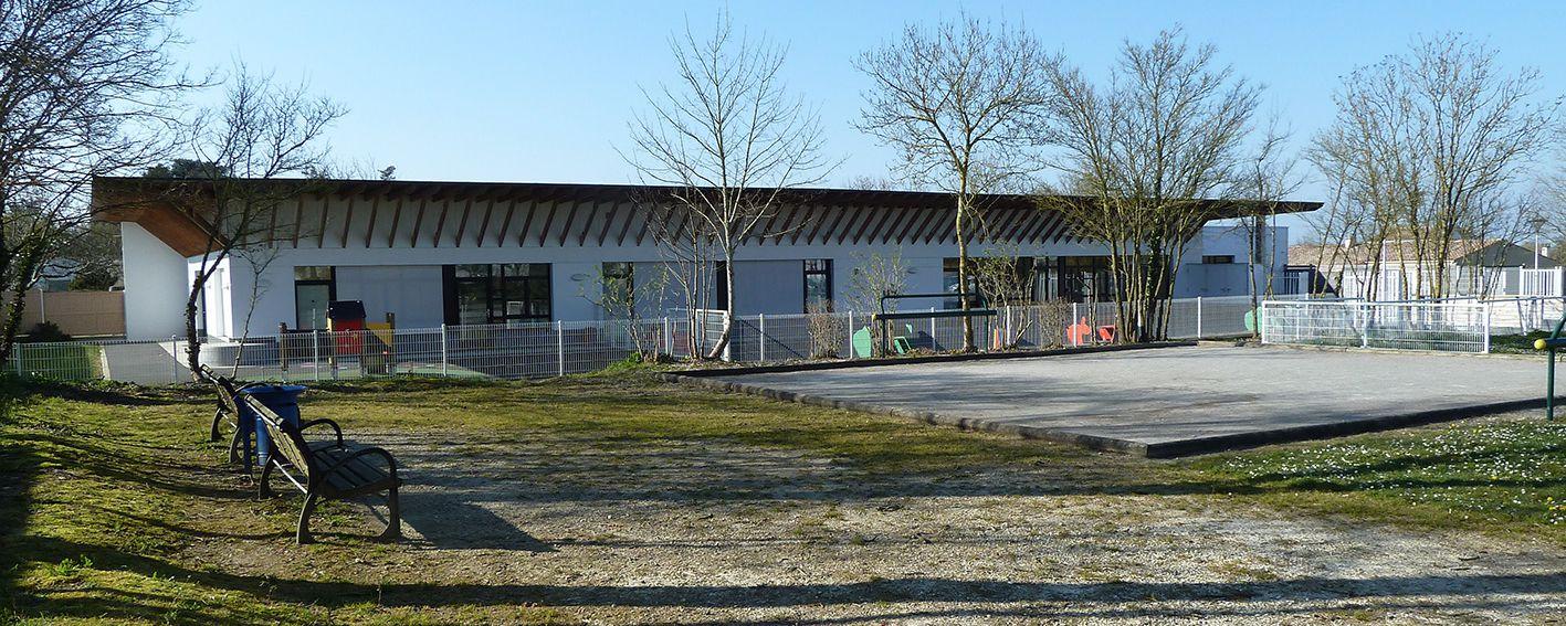 Bâtiment du RAMPE à Sainte-Soulle