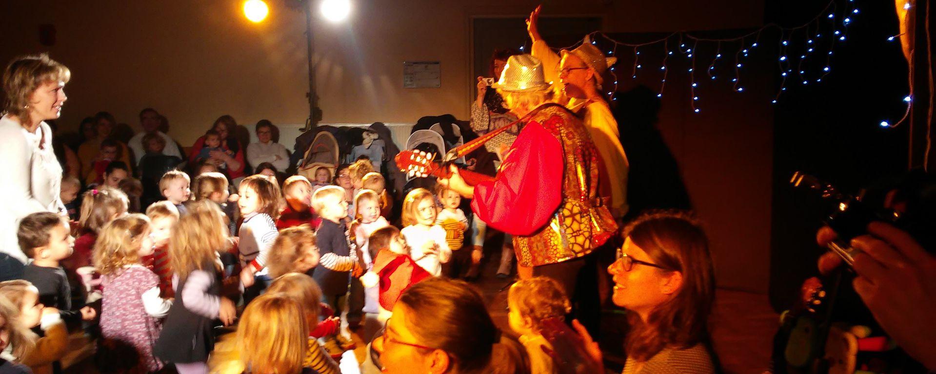 Fête de Noël du RAMPE le 9 décembre 2016
