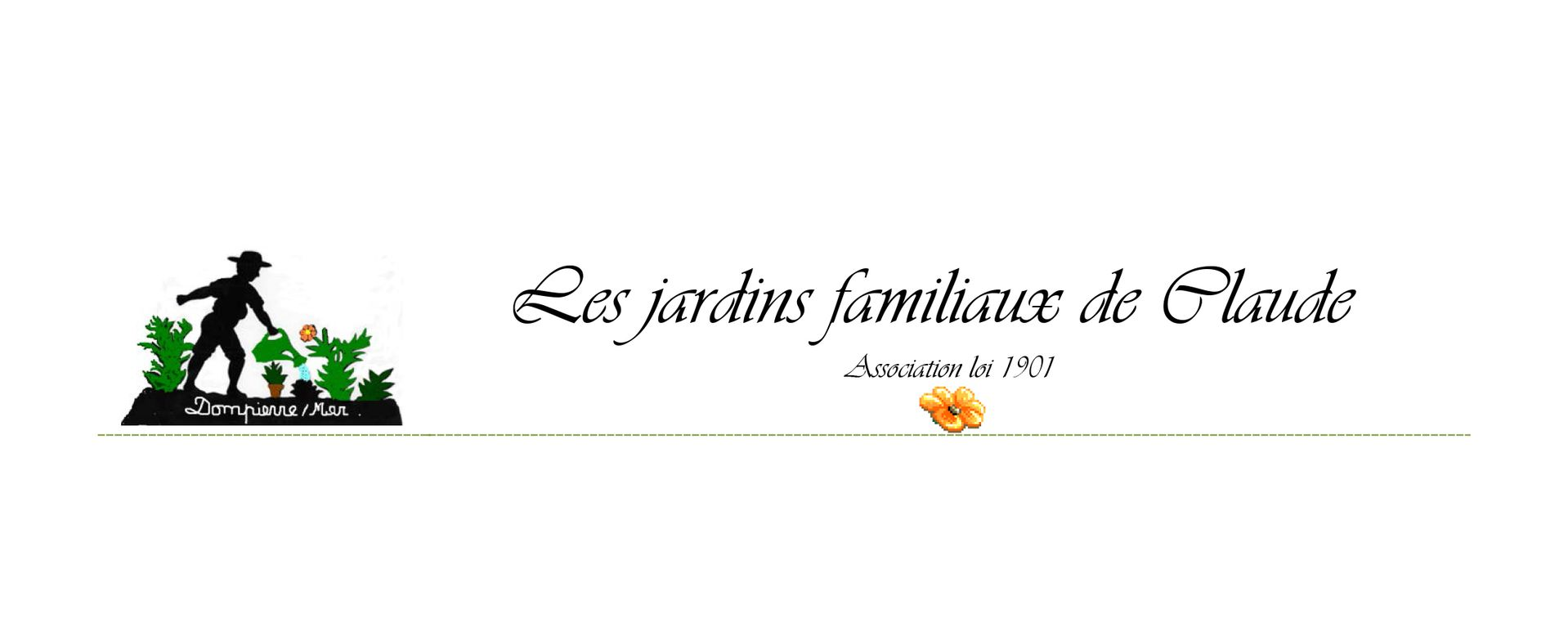 Logo des Jardins de Claude