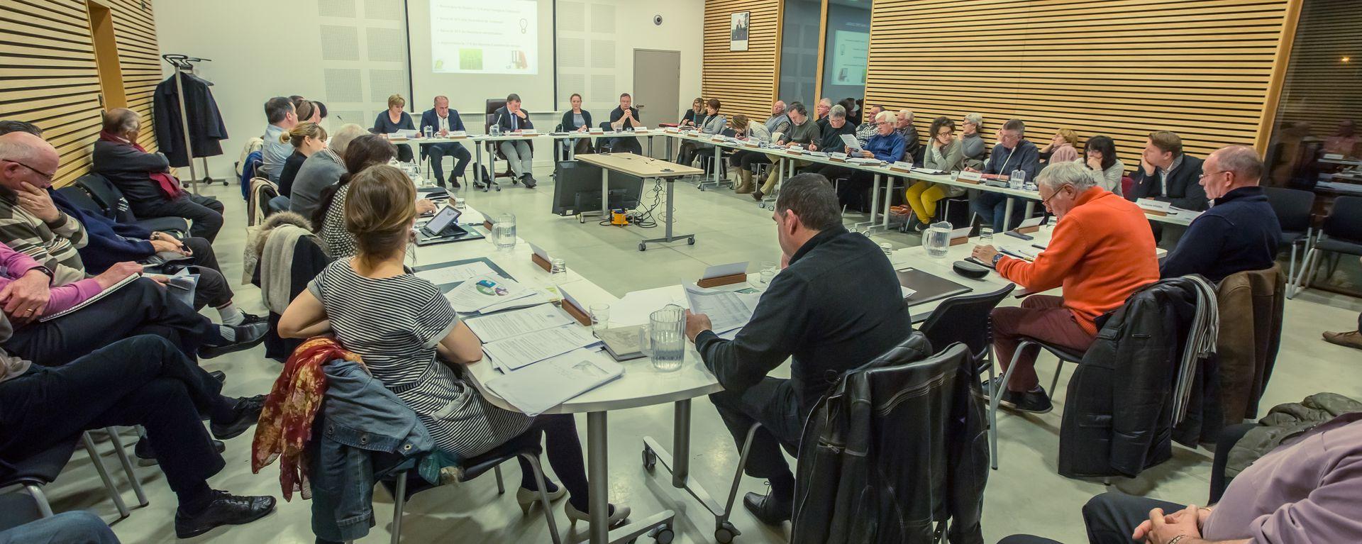 Conseil Municipal © Mairie de Dompierre sur Mer