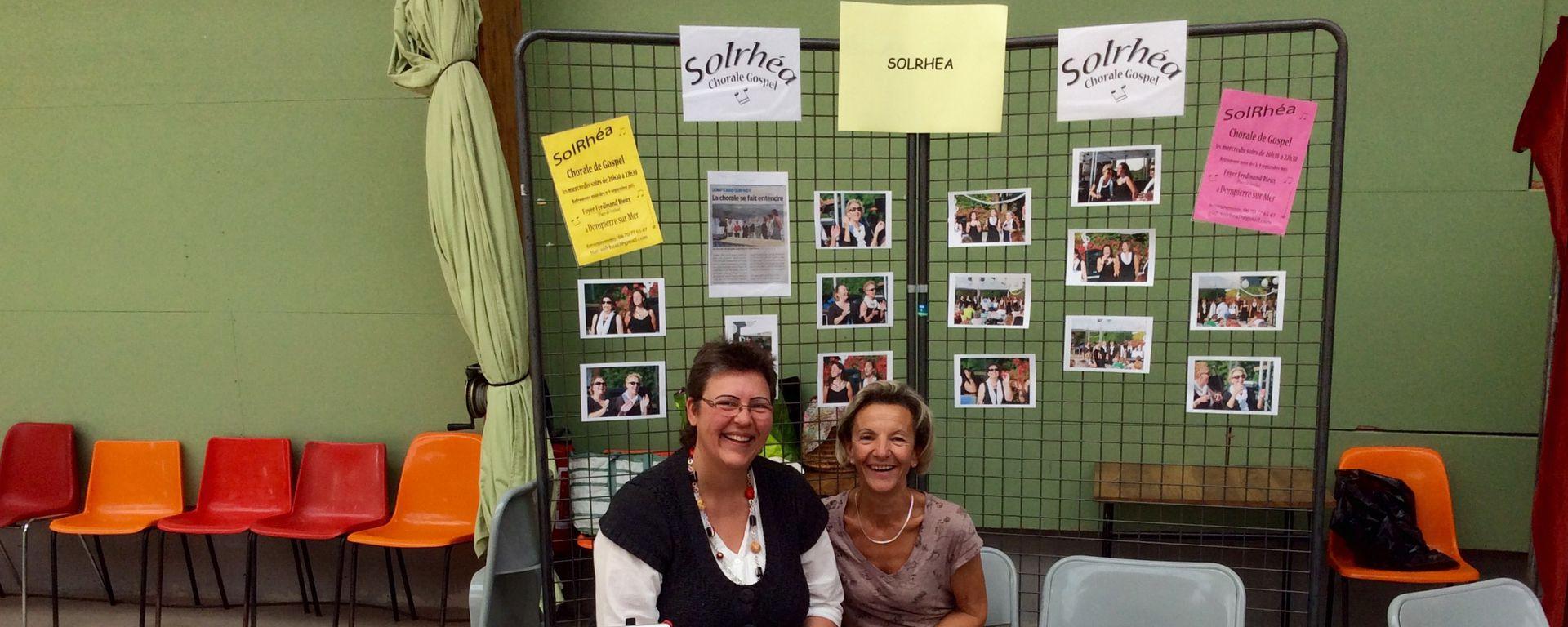 L'asssociation Solrhéa lors du Forum Associatif 2015
