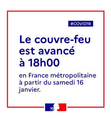 Couvre-feu 18h