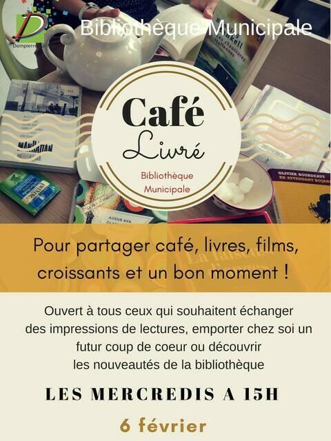 Café Livré - Affiche février