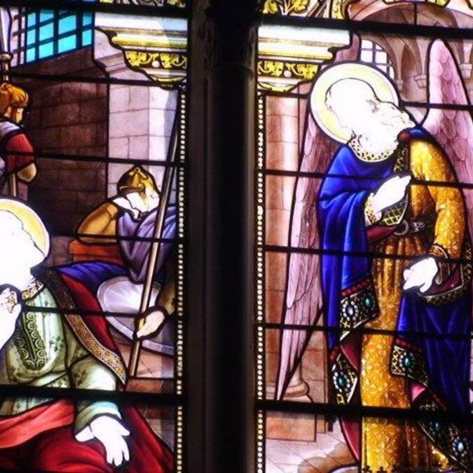 Vitrail - Eglise de Dompierre sur Mer