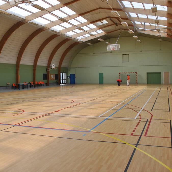 Gymnase communal - © Mairie de Dompierre  sur Mer