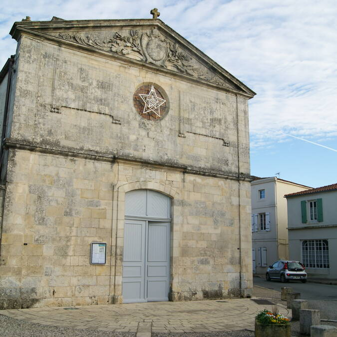 Eglise - © Mairie de Dompierre sur Mer