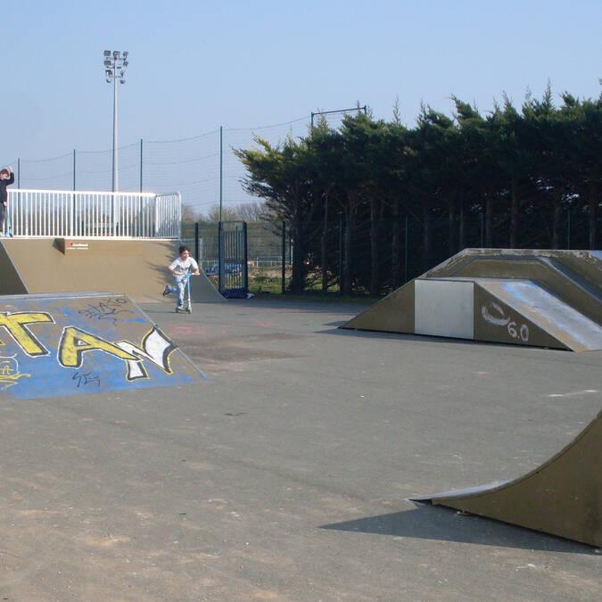 Skate parc - © Mairie de Dompierre  sur Mer